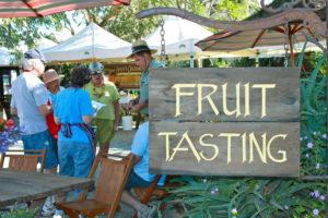 Fruit Tasting