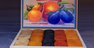 California Specialties Sampler 5 Fruit – Wooden Gift Box (Holiday Season Only)